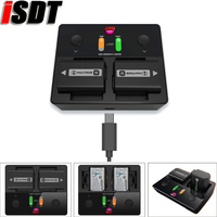 ISDT NP2 All In one Camera Battery Charger can fit for NP FZ100 NP FW50 NP BX1 Battery For Sony Camera Battery charge