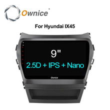 Ownice C500 + Octa 8 Rdzeń android 6.0 samochodowy odtwarzacz dvd Dla Hyundai Santa FE IX45 2015 2016 2017 stereo radio samochodowe gps nawigacji