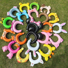 50pcs Animal Cosplay Hairband Balloon Cute Foil Balloons Cartoon Model Hair Band Balloons for Boy Girl Kids Birthday Party Decor(China)