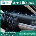 Evitar a luz Instrumento pad cover secretária plataforma Mats Tapetes Auto acessórios para VW Golf 6 POLO Beetle passat B5 b6 Golf cc 7