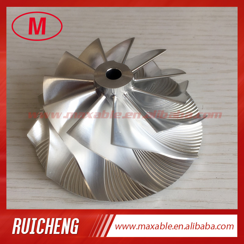 GTX3582 11 0 blades 61 34 82 00mm turbocharger billet milling aluminum 2618 compressor wheel