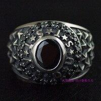 Импорт Таиланд 925 серебро, античная мужской кольцо звезды в небе