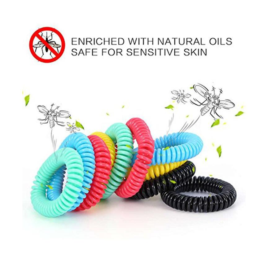 10PCS Outdoor Anti Mosquito Bug Pest Repel Wrist band ...