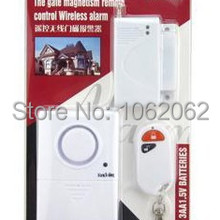 Wireless Remote Control Magnetic Door Alarm System  For Home Car Security