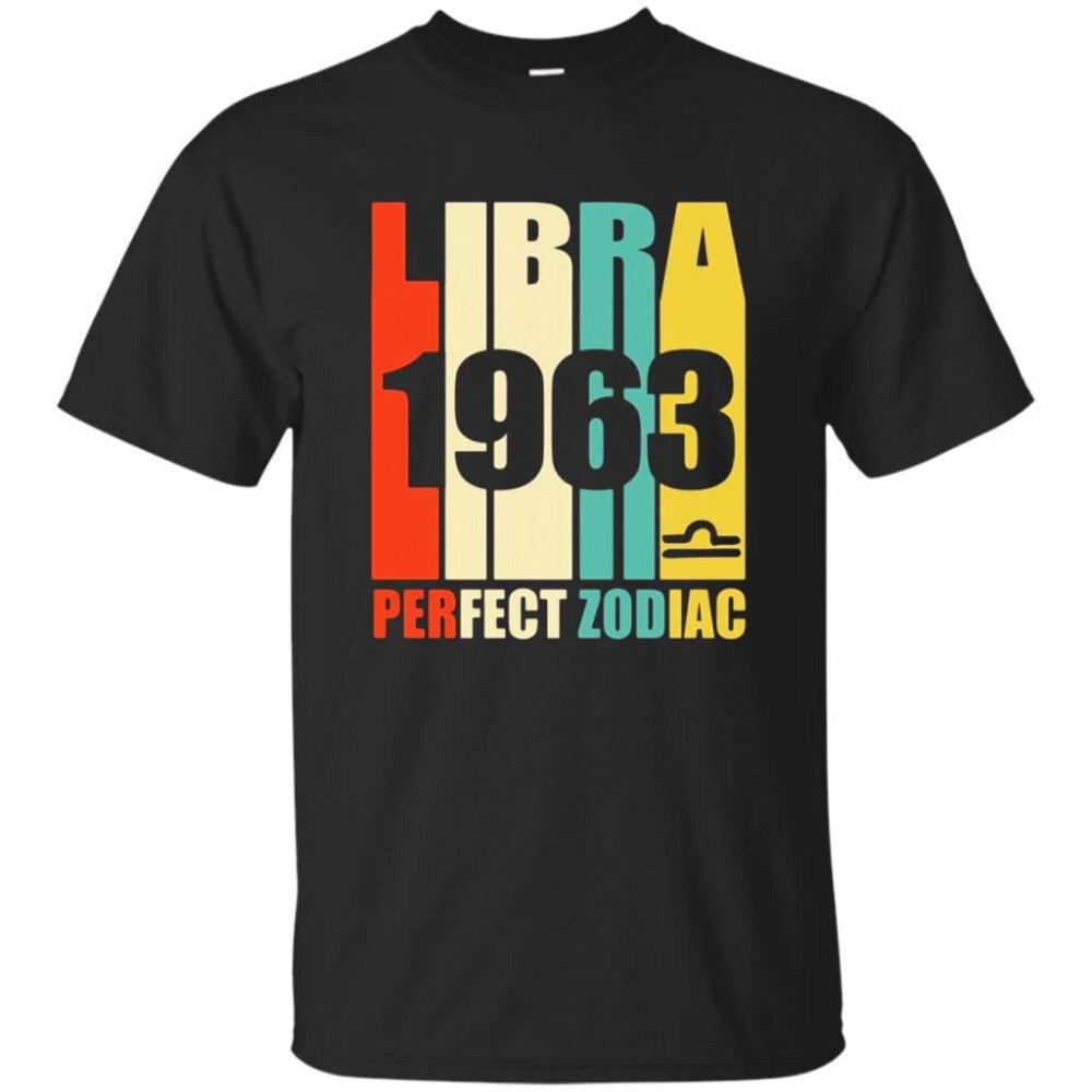 01d38959a7d9 Винтажная Футболка Libra 1963 54 лет Bday 54-й день рождения