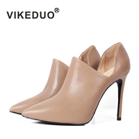 Zapatos Mujer Tacon Dames Schoenen Sapatos de Casamento Estilo de Moda Fina de Salto Alto Mulheres Senhora Dedo Apontado Genuíno Projeto Original