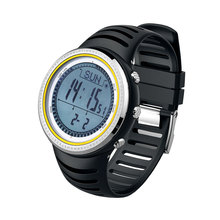 SUNROAD FR802A Digital Electronic Sport Men Watch – Waterproof Barometer Altimeter Pedometer LCD Display  Multifunction  Clock