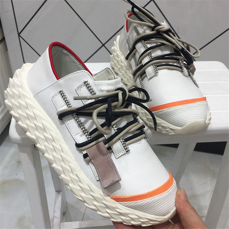 Contact up Casual Chaussures Low as Designer Baskets forme as Double Pic Pic Zip Zapatos Tenis Me Amateurs Femmes Cut 2019 Plate Dentelle Dame Coureurs Sneakers A5R4jL