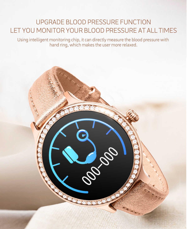 Smart watch נשים M8 אופנה חכם צמיד פעילות כושר גשש אלקטרוניקה קצב לב שעון לחץ דם לשחות שעון