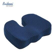 Ergonomische Hämorrhoiden Sitzkissen Memory Foam Steißbein Orthopädische Sitzkissen Schmerzlinderung Ischias Für Office Home Almofada