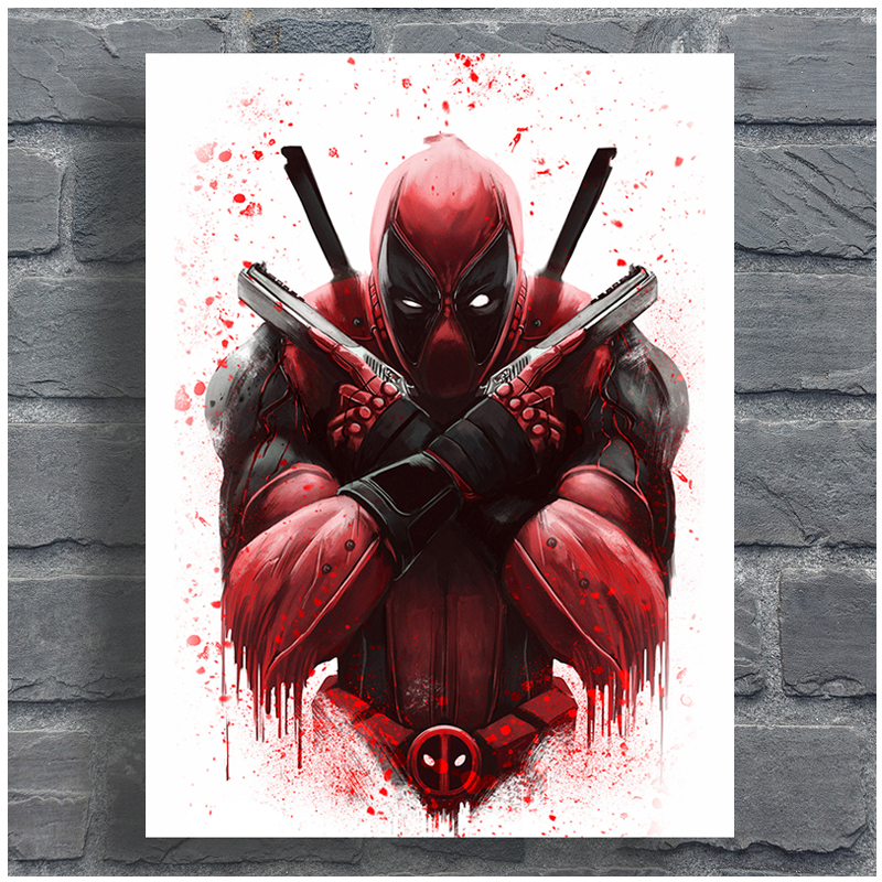 Marvel Heroes Deadpool diamond Embroidery full diy diamond painting mosaic 5d cross stitch painting by numbers StickerZP-1972(China)