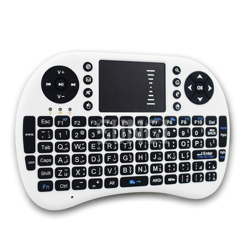 Araabia keel Layout-klaviatuur 2.4G i8 + traadita mini-klaviatuur - Arvuti välisseadmed - Foto 2