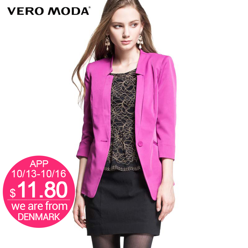 Vero Moda Brand new and comfortable women s fashion Work Wear Blazers Candy color Elegant suit