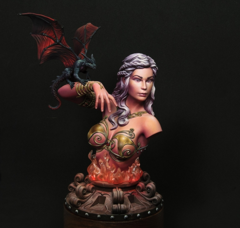 1/16 Resin Bust Dragon Mother 312D