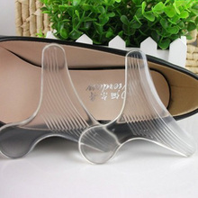дешево!  Аксессуары для обуви Каблук из износостойкого и силиконового листа (1 пара мягкого силикона T-Type S