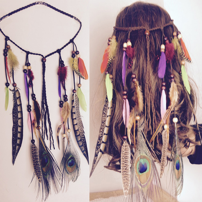 Earnest 1pc Cute Elastic Hair Bands Ponytail Rope Headdress Vintage Ball Tassel Rubber Rope Scrunchy Girls Women Hair Accessories Girl's Accessories