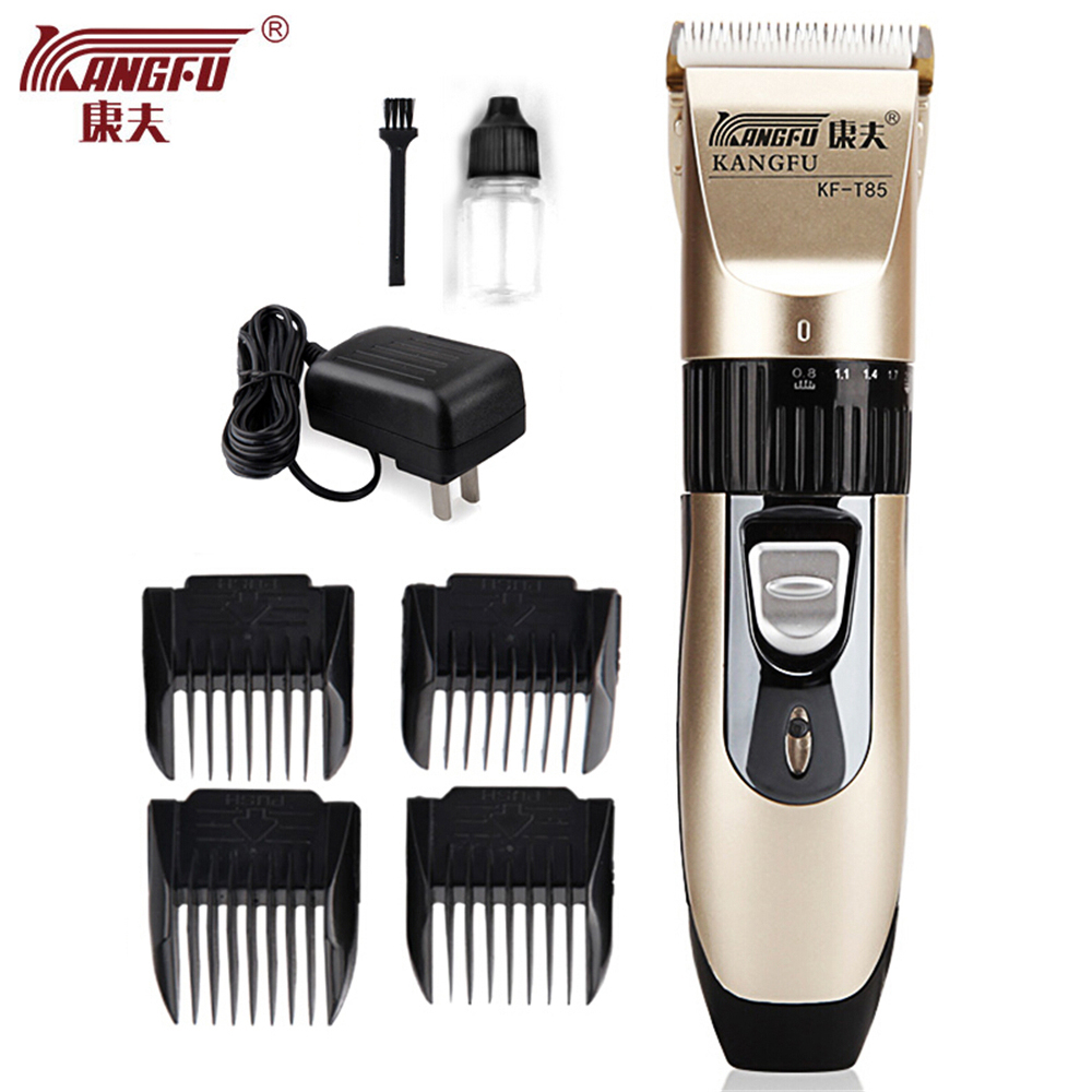 hot sale t85 electric hair clipper professional hair trimmer beard shaver ceramic blade cordless. Black Bedroom Furniture Sets. Home Design Ideas