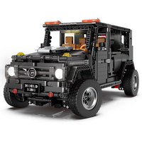 H&HXY APP Technic 13070 1770Pcs legoinglys SUV G5500 AWD Wagon RC Motors Car Sets Building Blocks Bricks Educational Toys 20100