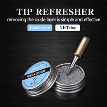 Soldering Iron Lead-Free Tip Refresher Clean Paste for Oxide Solder Ir
