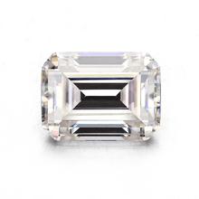 Lab stworzył White Emerald Cut 7 * 9mm Moissanites luźne kamień jubilerski do biżuterii tanie tanio Fine No certificate Cheestar Gems Doskonałe 2 5ct GDTC Biały Moissanites(SIC) 7*9mm White-GH Manmade 9 25 2 65-2 69 Syntetycznych