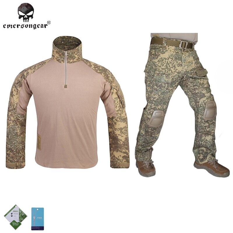 все цены на  Emersongear G3 Combat Clothes Military BDU Army Airsoft Emerson Gear Paintball Hunting Uniform Badland  в интернете