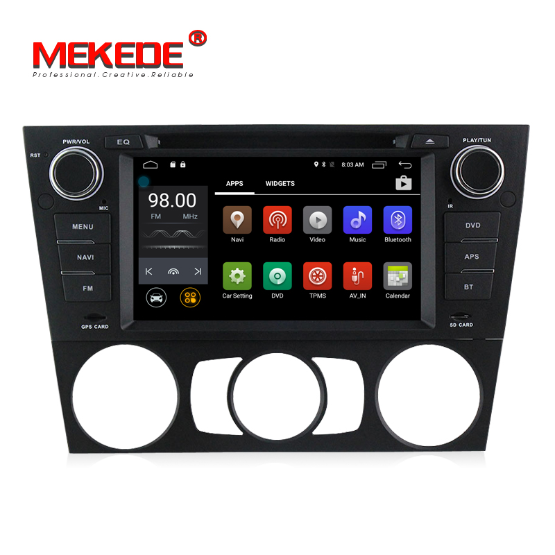 Wholesale Android 7 1 Quad core Car DVD player for BMW 3 Series E90 E91 E92