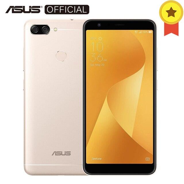 Asus Zenfone Max плюс (M1) Глобальный Версия 4 ГБ 64 ГБ 5,7 '18: 9 FHD + Экран mt6750t восемь ядер Android7.0 4130 мАч телефон OTG 3 слота
