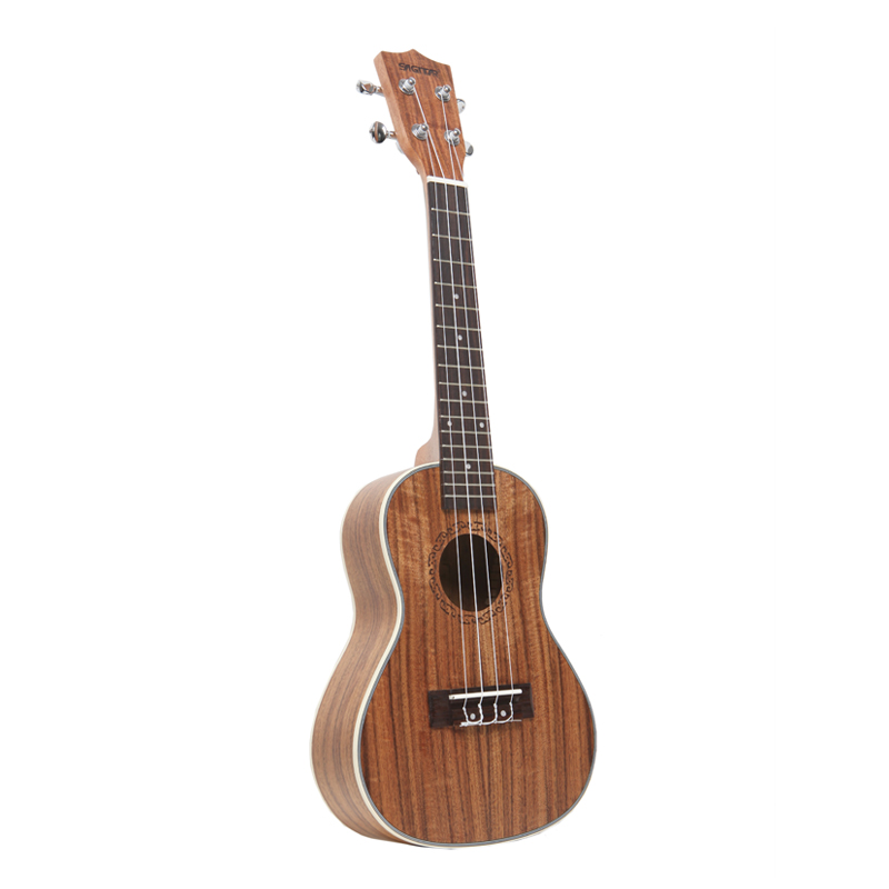 23 Inch Soprano Ukulele Guitar Acoustic Ukelele Rosewood 4 Strings Hawaii Classical Guitarra Ukulele Musical Stringed Instrument