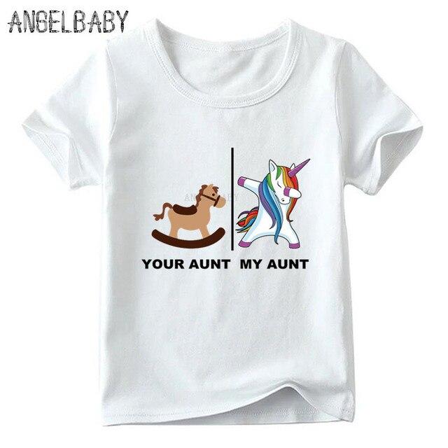 Your Aunt Vs My T Standard Unisex T-shirt