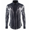 Luxury Men Shirt Chemise Homme Unique Brand Design Mens Slim Fit Long Sleeve Cotton Dress Shirts Brand Camisas Hombre Masculino