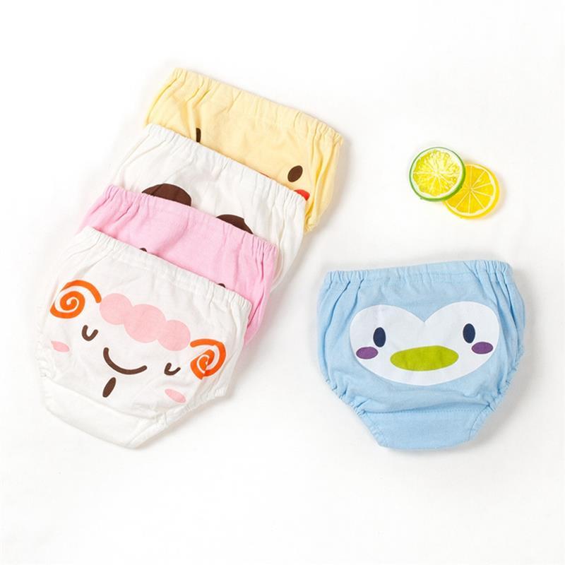 5 шт./лот нижнее белье дети Kawaii Мультфильм Детские шорты хлопок тренировочные брюки для маленьких мальчиков Трусики для девочек 1-4 года