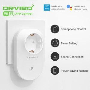 Image 4 - قابس طاقة ذكي من Orvibo مزود بمدخل واي فاي يعمل مع أمازون أليكسا وجوجل هاتف ذكي تطبيق تحكم أتمتة المنزل الذكي B25