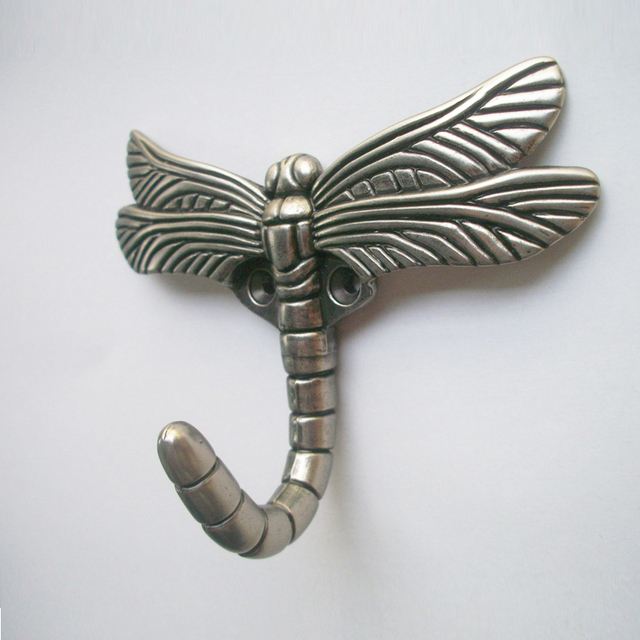 Aliexpress.com : Buy Dragonfly Decorative Wall Hooks Coat Hangers ...