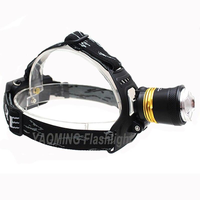 LED Lamp Cree T6 Headlamp Strong Light 2000 Lumen Waterproof Flashlight LED Strip Waterproof Recarregavel