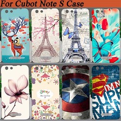 На Алиэкспресс купить чехол для смартфона for cubot note s case cover,high quality 10 patterns colored deer flowers eiffel towers hard pc case for cubot note s 5.5дюйм. cover