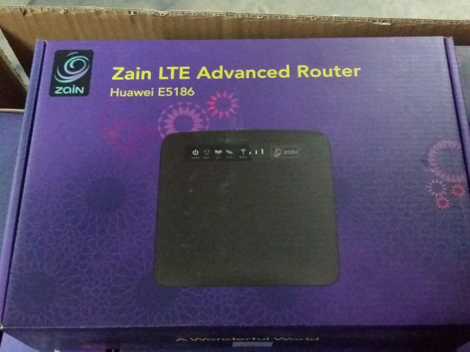 free DHL Brand Huawei Zain LTE CPE E5186 S 22A 4G Router