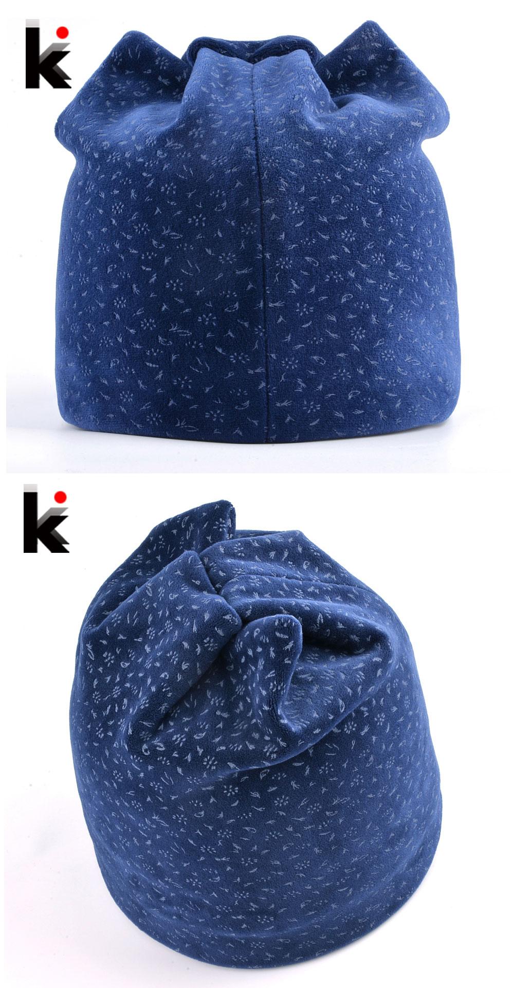 a80173a1bc9 Cat Ear Beanies Women Winter Warm Velvet Hat For Female Double Layer Thick Skullies  Beanie Cute Ear Flaps Cap Girls Soft Bonnet. K 01 K 02 ...
