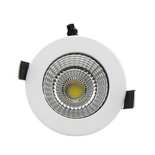 цена на Dimmable LED Recessed Downlight  7W 9W 12W 15W/20W COB Chip LED Ceiling Spot Light Lamp White/ Warm