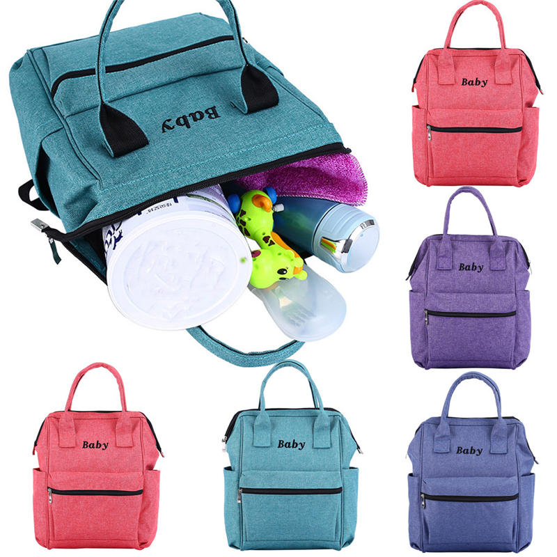 New Desinger Nursing Bag For Baby Care Women Maternal And Child Handbag Large Capacity Baby Carriage Bottle Diaper Bags C21%