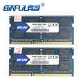 Envío libre original 4 gb pc3-12800s binful/8500 s/10600 s ddr3 1066 mhz/1333 mhz/1600 mhz memoria ram del ordenador portátil 1.5 v para notebook