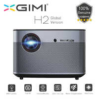 XGIMI H2 DLP Projector 1920x1080 Full HD 3D Support 1350 Ansi WiFi Bluetooth Home Theater Beamer 4K Video HDMI USB LAN