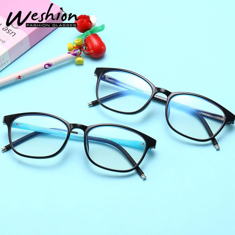 Computer Blue Light Kids Glasses Blocking Optical Frame Transparent Eyeglasses Filter Reduces Digital Eye Strain Gaming UV400
