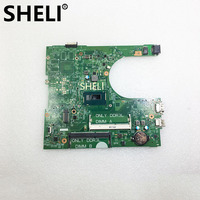 SHELI FOR DELL SR1EF I5 4210U Inspiron 3458 Laptop Motherboard 14216 1 CN 0YNW6D YNW6D PWB:1XVKN REV:A00 mainboard NOTEBOOK