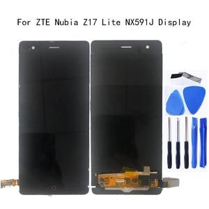 "Image 1 - 5.5 ""Display originale Per zte Nubia Z17 lite NX591J Display LCD + Touch screen digitizer di ricambio Per Nubia NX591J kit di riparazione"