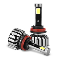 Super Bright Car Headlights N7 H11 1 Set 80W Set 40W Each Bulb CREE Chip LED
