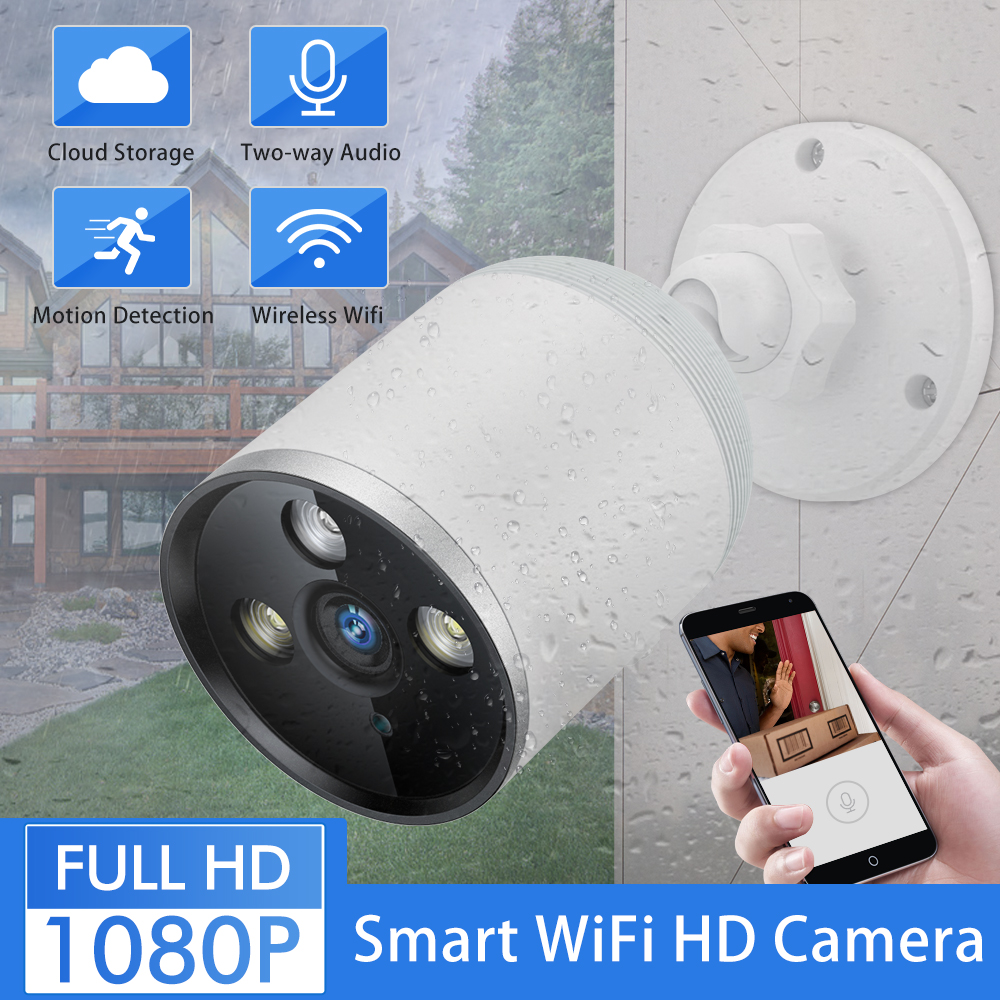 SDETER 1080P Cloud Wireless WIFI Camera Outdoor Waterproof Bullet Security Camera CCTV IP Camera Night Vision Motion Alarm PTZSDETER 1080P Cloud Wireless WIFI Camera Outdoor Waterproof Bullet Security Camera CCTV IP Camera Night Vision Motion Alarm PTZ