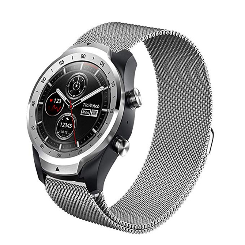 ASHEI 20mm 22mm Milanese Loop Strap For Samsung Galaxy Watch 46mm/42mm Band For Samsung Gear S3 Frontier / S3 Classic/Gear SportASHEI 20mm 22mm Milanese Loop Strap For Samsung Galaxy Watch 46mm/42mm Band For Samsung Gear S3 Frontier / S3 Classic/Gear Sport