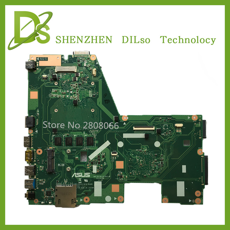 HOT!!! For ASUS X551CA  Laptop motherboard X551CA mainboard REV2.2 1007u freeshipping