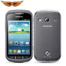 S7710 samsung Xcover 2 S7710 разблокированный 4,0 дюймов 1 ГБ ОЗУ 4 Гб ПЗУ 5Мп gps wifi 1700 мАч сенсорный телефон