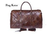 Flug Kazte супер большая сумка из натуральной кожи для путешествий итальянская кожаная сумка для путешествий из воловьей кожи